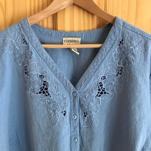 e5ed2248ad5 Essentials by Maggie Tops - Essentials by Maggie beaded blouse